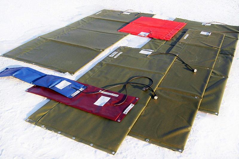 Термоматы для обогрева бетона